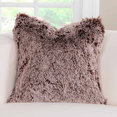Pologear Bear Shag Throw Pillow
