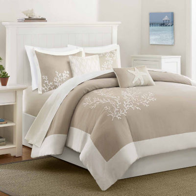 Harbor House Coastline 5-pc. Jacquard Duvet Cover Set