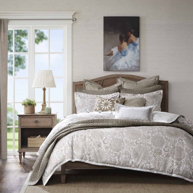 Madison Park Signature Sophia Jacquard Comforter Set