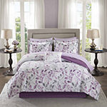 Madison Park Essentials Eden Complete Comforter & Cotton Sheet  Set