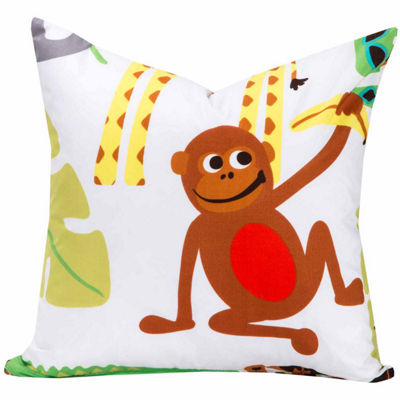 Crayola Jungle Love Throw Pillow