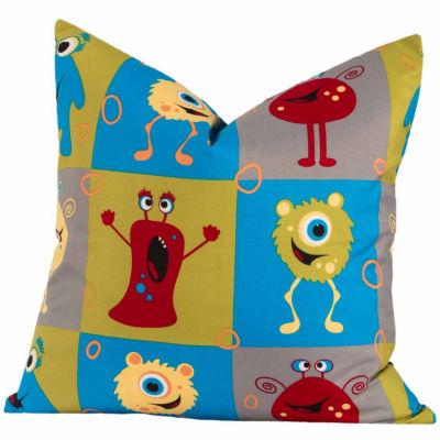 Crayola Monster Friends Throw Pillow