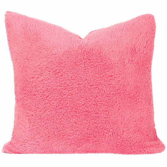 Crayola Playful Plush Cotton Candy Throw Pillow