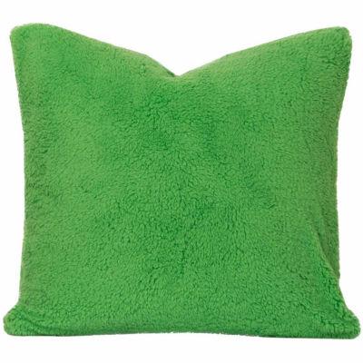 Crayola Playful Plush Jungle Green Throw Pillow