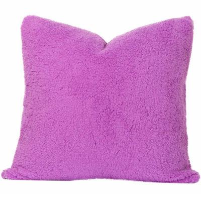Crayola Playful Plush Vivid Violet Throw Pillow