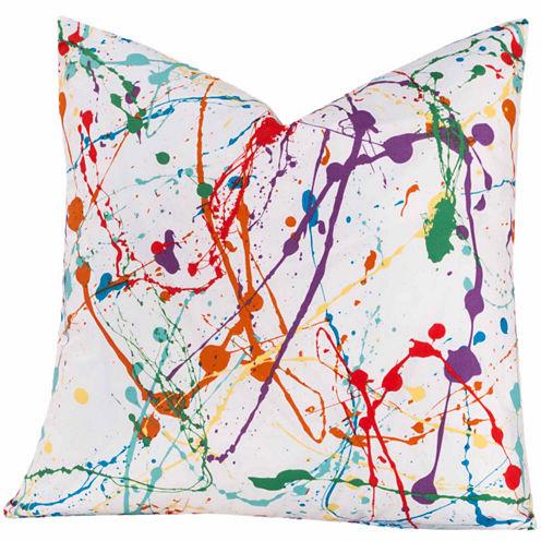 Crayola Splat Throw Pillow