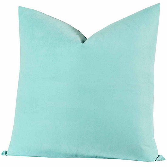 Crayola Robins Egg Blue Throw Pillow