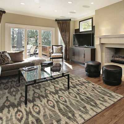 Covington Home Helena Ikat Rectangular Rugs