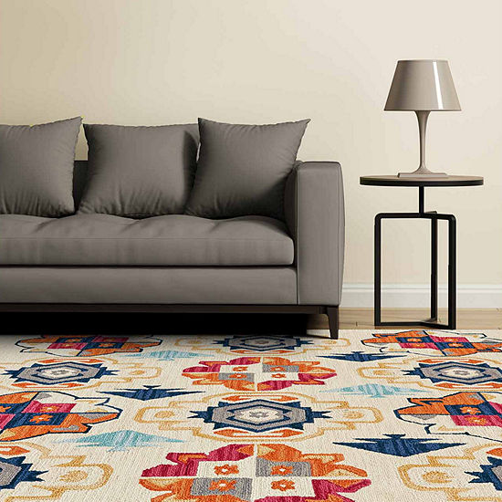 Weave And Wander Kamille Hand Tufted Rectangular Indoor Rugs