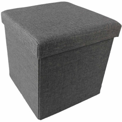 Collapsible Storage Ottoman