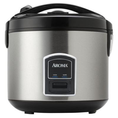 Aroma 20-Cup (Cooked) Cool-Touch Rice Cooker and Steamer