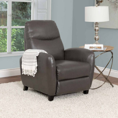Ava Bonded Leather Recliner