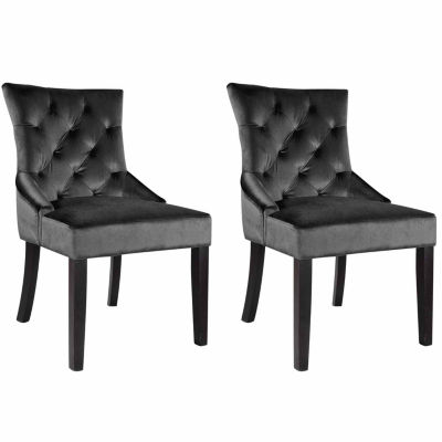 Antonio Velvet Club Chair