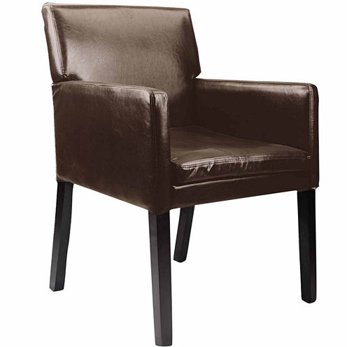 Antonio Leather Club Chair