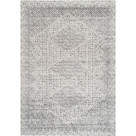 nuLoom Vintage Exie Area Rug, One Size , Gray