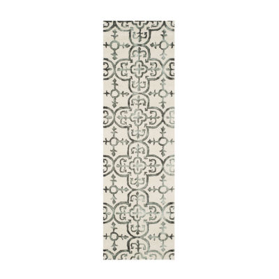 Safavieh Dip Dye Collection Danny Floral Runner Rug