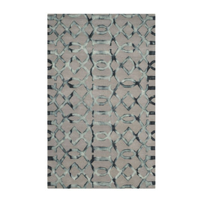 Safavieh Dip Dye Collection Diamond Geometric Area Rug