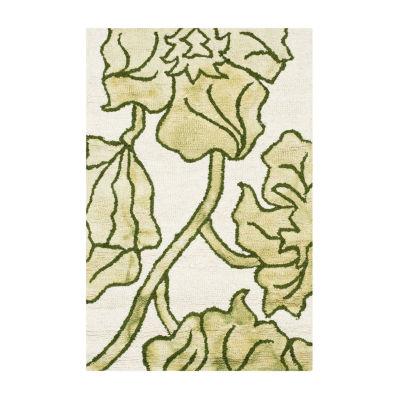 Safavieh Dip Dye Collection Erksine Floral Area Rug