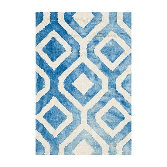 Safavieh Dip Dye Collection Lucian Geometric Area Rug