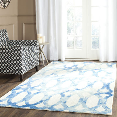 Safavieh Dip Dye Collection Maralyn Geometric Square Area Rug