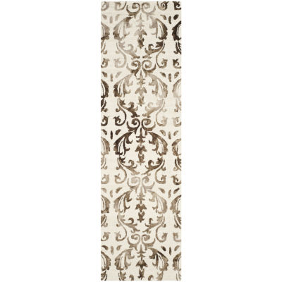 Safavieh Dip Dye Collection Mihail Floral Runner Rug