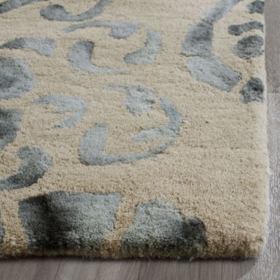 Safavieh Dip Dye Collection Vivyan Floral Square Area Rug