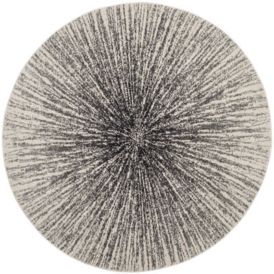 Safavieh Evoke Collection Aliya Abstract Round Area Rug