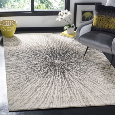 Safavieh Evoke Collection Aliya Abstract Square Area Rug