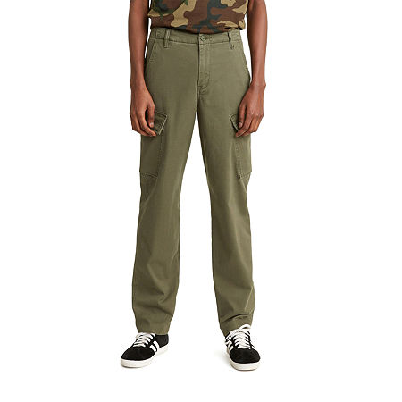 Levi's Xx Taper Cargo Mens Regular Fit Cargo Pant, 28 30, Green