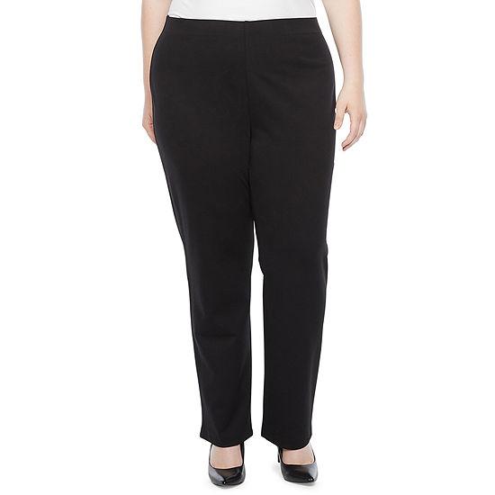 Liz Claiborne-Plus Womens Ankle Pull-On Pants