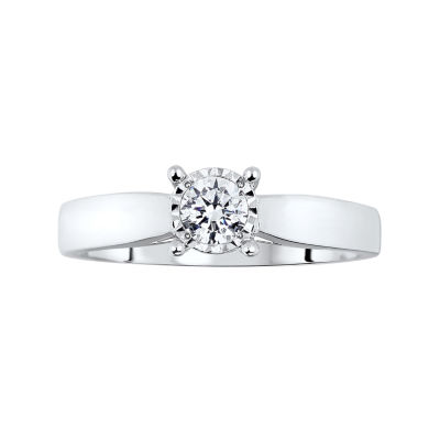 TruMiracle® ½ CT. T.W. Diamond Engagement Ring