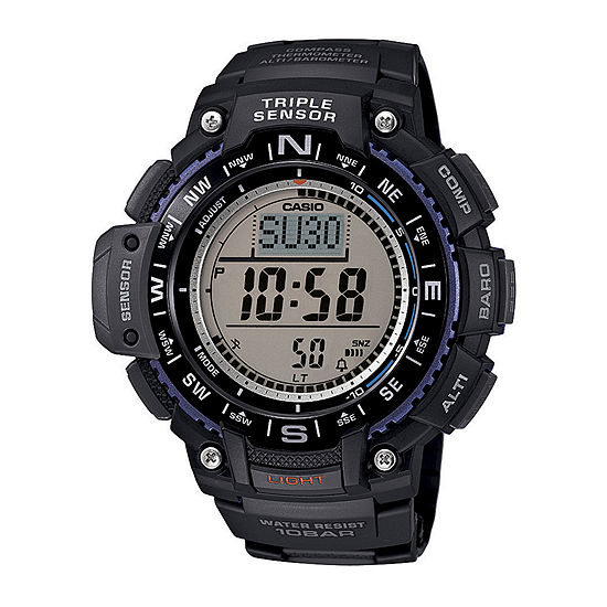Casio Mens Black Strap Watch-Sgw1000-1a