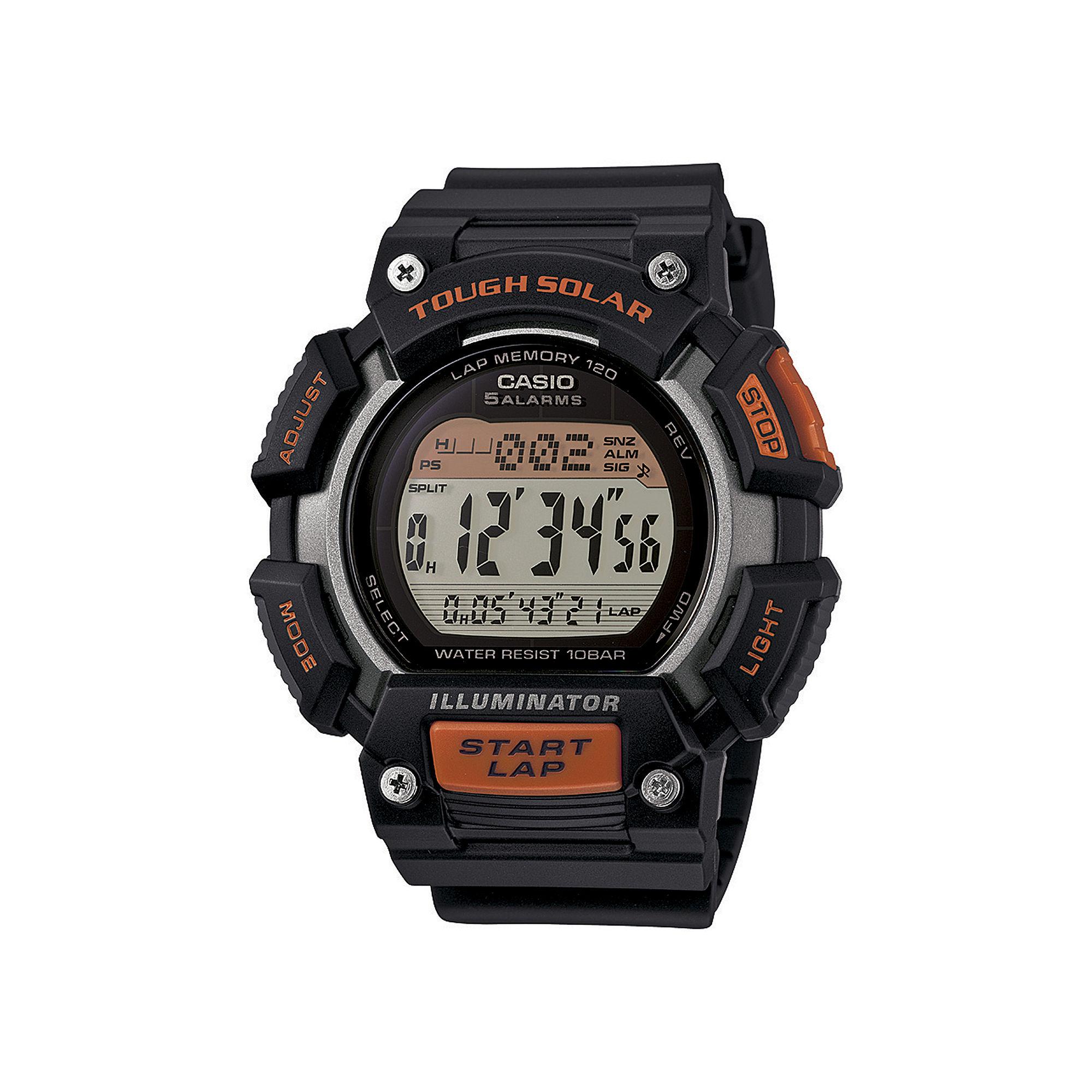 Casio Tough Solar Illuminator Mens Runner Sport Watch STLS110H-1A