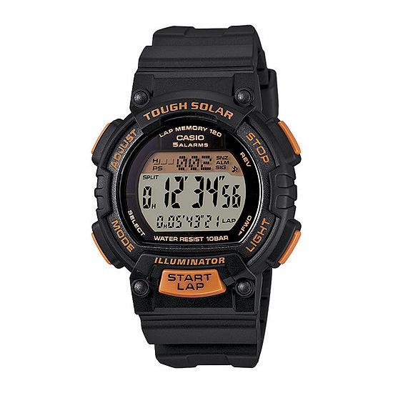 Casio Womens Black Strap Watch-Stls300h-1b