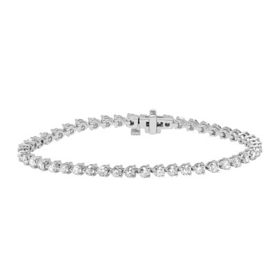 5 CT. T.W. Diamond 14K White Gold Tennis Bracelet