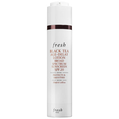 Fresh Black Tea Age-Delay Lotion Broad Spectrum Sunscreen SPF 20
