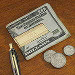 Personalized Cornwall Pattern Money Clip