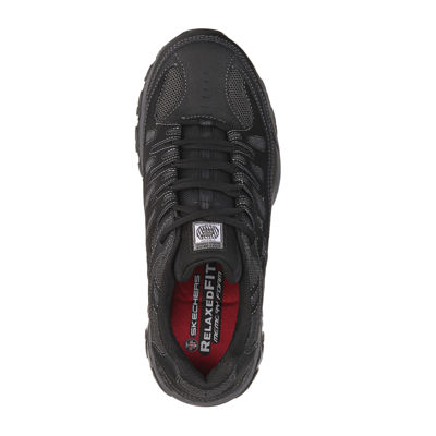 Skechers® Cankton Mens Steel-Toe Work Sneakers