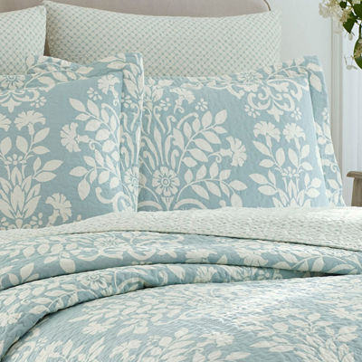 Laura Ashley Rowland 3-Piece Quilt Set