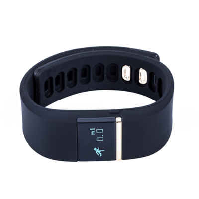 Ifitness Activity Smart Watch with Interchangeable Band - Gold/Black & White