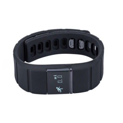 Ifitness Ifitness Activity Tracker Black/Black And Charcoal Gray Interchangeable Band Unisex Multicolor Smart Watch-Ift5417bk668-734