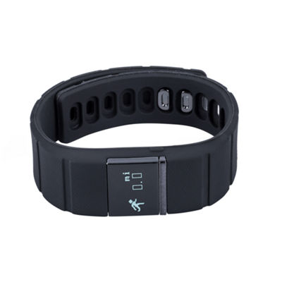 Ifitness Activity Smart Watch with Interchangeable Band - Black & Charcoal Gray