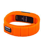 Ifitness Activity Smart Watch with Interchangeable Band - Black/Navy & Orange
