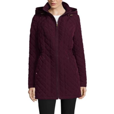 St. John's Bay Hooded Quilted Jacket
