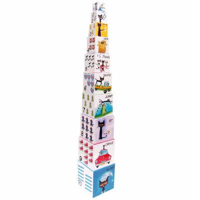 Kids Preferred Pete The Cat Nesting Blocks Interactive Toy - Unisex