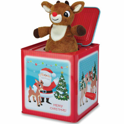 Kids Preferred Rudolph Jack In The Box Interactive Toy - Unisex