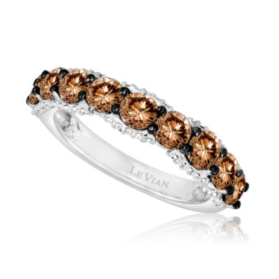 Grand Sample Sale™ by Le Vian® 1 3/4 CT. T.W of Chocolate Diamonds® & Vanilla Diamonds® in 14k Vanilla Gold® Chocolatier® Ring