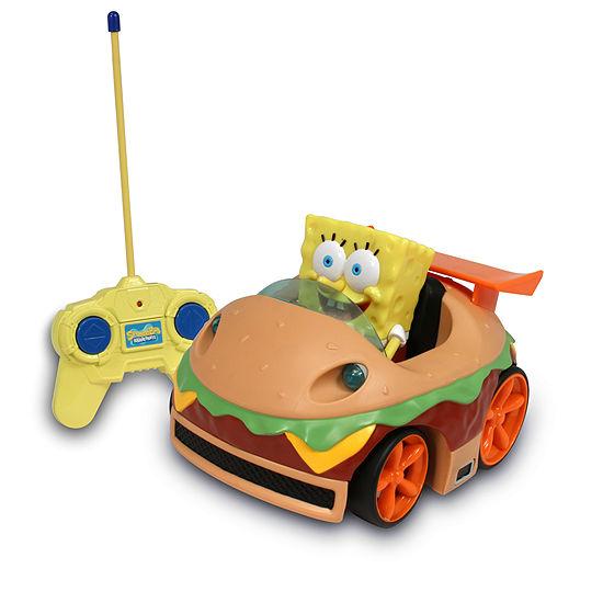 Spongebob Squarepants Rc Krabby Patty With Spongebob