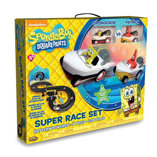 Spongebob Hot Rod Slot Race Set