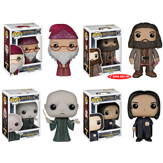 Funko Harry Potter 4 Pack Harry Potter Action Figure
